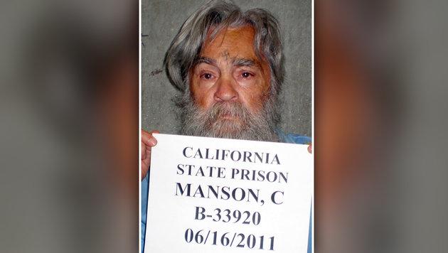 Massenmörder Charles Manson in Spital eingeliefert (Bild: AP)