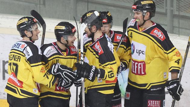 Capitals holen gegen Innsbruck 10. Sieg in Folge (Bild: GEPA)