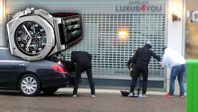Berliner Juwelier setzt Kopfgeld auf Räuber aus (Bild: facebook.com)