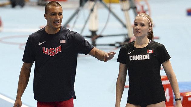 Ashton Eaton und Brianne Theisen-Eaton (Bild: Associated Press)