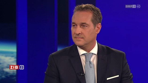Heinz-Christian Strache (Bild: Screenshot tvthek.orf.at)