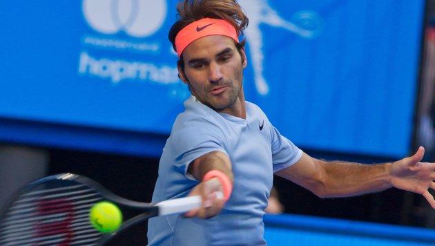Roger Federer (Bild: APA/AFP/TONY ASHBY)