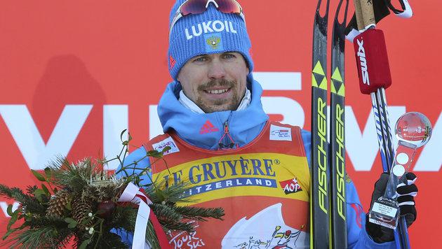Ustjugow schreibt Tour-de-Ski-Geschichte (Bild: AP)