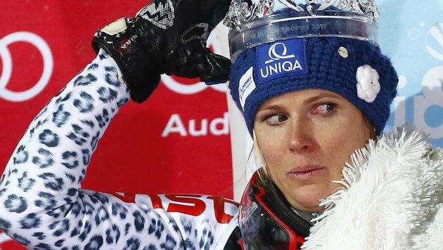 Zagreb-Siegerin nach Triumph ins Spital (Bild: AP)