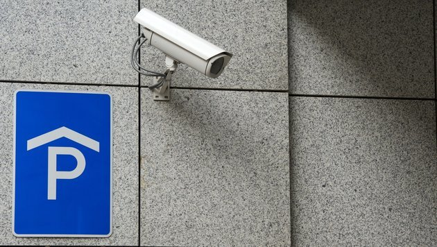 Überwachung von Parkplätzen (Bild: dpa-Zentralbild/Peter Endig)