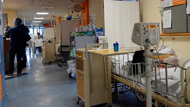 So überfüllt sind Wiens Krankenhäuser (Bild: Reinhard Holl)