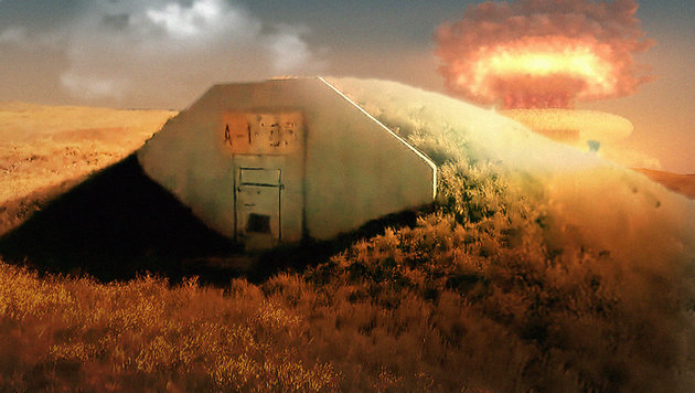 US-Firma vermietet Bunker für die Atom-Apokalypse (Bild: vimeo.com, thinkstockphotos.de)