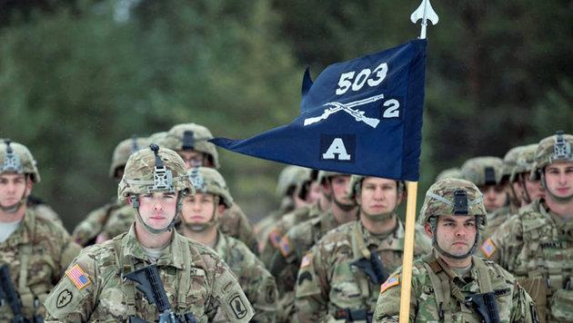 US-Soldaten in Litauen (Bild: AP)