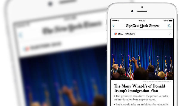 "Apple streicht ""New York Times"" aus App-Store (Bild: Apple, New York Times, krone.at-Grafik)"