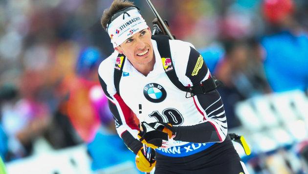 Biathlon-Sensation! Eberhard siegt für Österreich (Bild: GEPA)