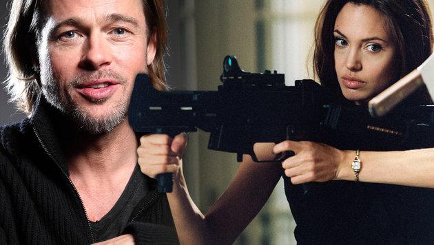 Brad Pitt fürchtet, dass Wahrheit ans Licht kommt (Bild: AP/Carlo Allegri, face to face)