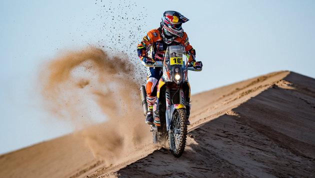 Stark! Walkner holt Sieg auf 4. Dakar-Etappe (Bild: GEPA)