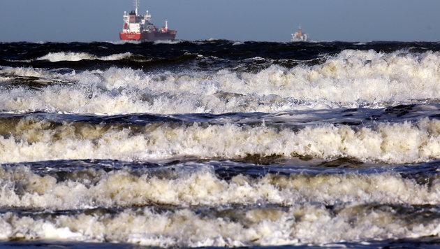 "Tief ""Axel"": Stärkste Ostsee-Sturmflut seit 2006 (Bild: dpa-Zentralbild/Bernd Wüstneck)"