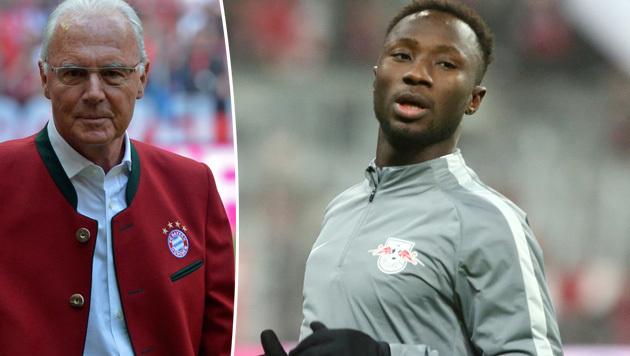 Ex-Salzburger wird mit Beckenbauer verglichen! (Bild: GEPA)
