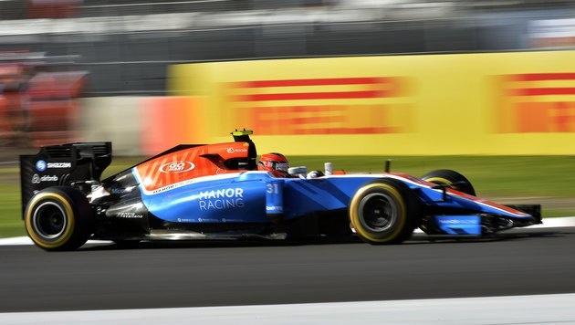 Formel-1-Team Manor muss Insolvenz anmelden (Bild: AFP)