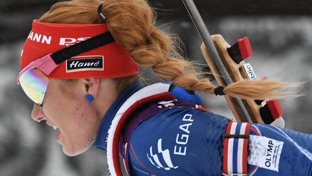 Gabriela Koukalova (Bild: AP)