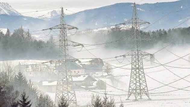 Hässlich, eine Uralt-Technik und gefährlicher Elektro-Smog: Salzburg und seine 380er-Masten (Bild: Markus Tschepp (Symbolbild))