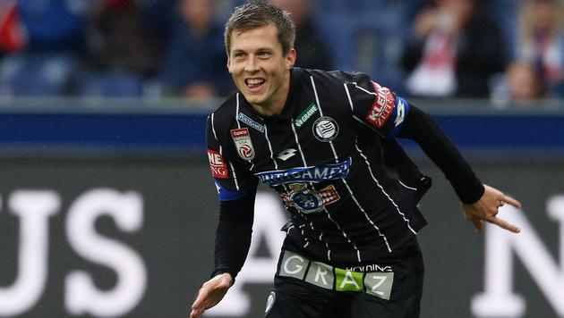 Serie-A-Klub angelt nach Sturm-Torjäger Deni Alar (Bild: GEPA)