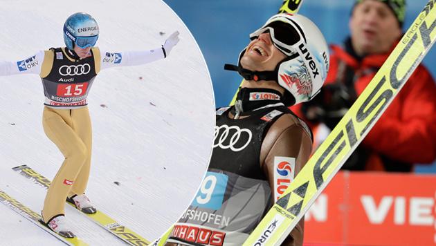 Stoch holt Tournee-Sieg! Hayböck stark im Finale (Bild: APA)