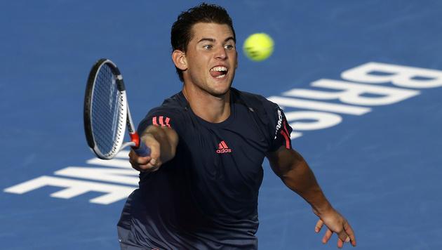 Thiem: Endstation im Viertelfinale von Brisbane (Bild: AP)