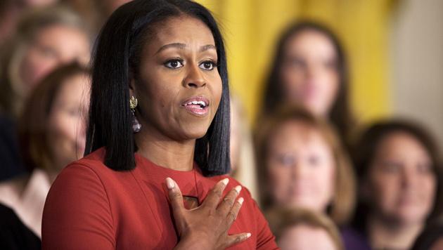 """Michelle Obama: """"Keine Angst, sondern Hoffnung"""" (Bild: AP)"""