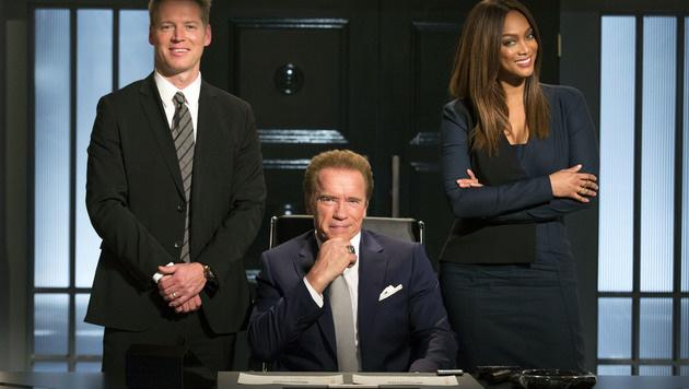 "Arnold Schwarzenegger in ""Celebrity Apprentice"" (Bild: AP)"