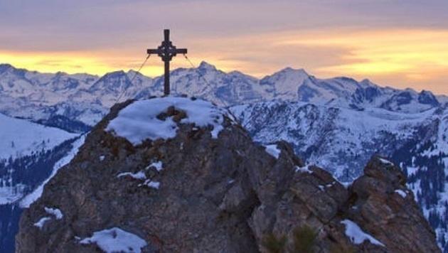 Eine Winteraufnahme vom Mooskopf in Kleinarl (Bild: Christa Kramer)