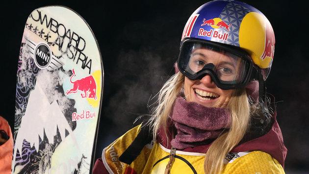 Gasser beim Big-Air-Weltcup in Moskau auf Rang 2 (Bild: APA/dpa/Ina Fassbender)