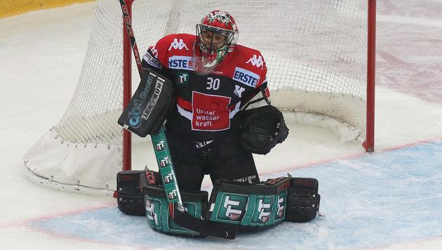 Innsbruck-Goalie Andy Chiodo (Bild: GEPA)