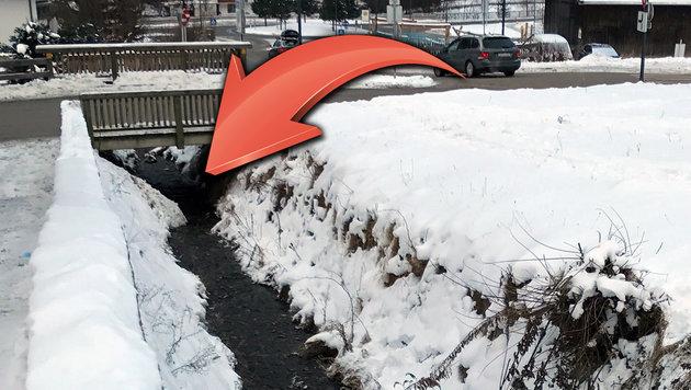 Hier fand ein Gletscherbahn-Angestellter die Leiche des 25-Jährigen. (Bild: ZOOM.TIROL)