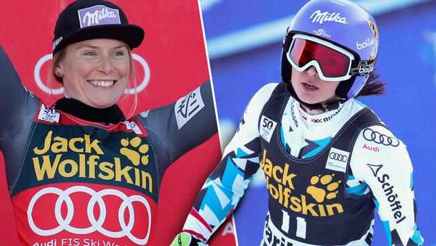 Neuer Tiefpunkt für ÖSV-Damen, Sieg an Worley (Bild: AP/Marco Trovati, GEPA)