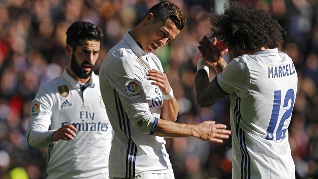 Real Madrid nach 5:0 39 Spiele in Folge unbesiegt! (Bild: Associated Press)
