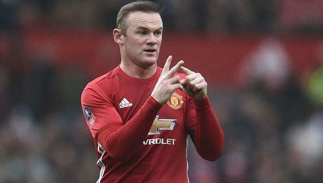 Rooney neuer Rekordschütze von Manchester United (Bild: AFP)