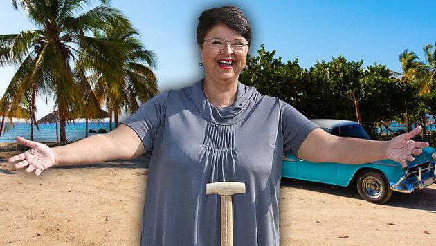 Finanzstadträtin Renate Brauner urlaubt auf Kuba. (Bild: Peter Tomschi, thinkstockphotos.de)