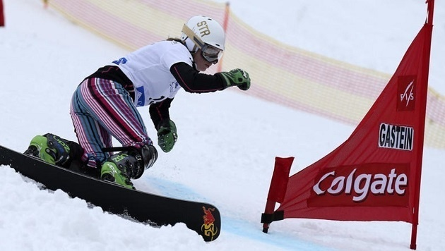 Seit 2001 organisiert Franz Weiss bereits den Snowboard-Weltcup mit Ester Ledecka in Bad Gastein. (Bild: Andreas Tröster)