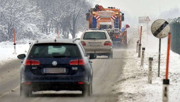 Extreme Kälte weicht nun dichtem Schneetreiben (Bild: APA/HERBERT PFARRHOFER)