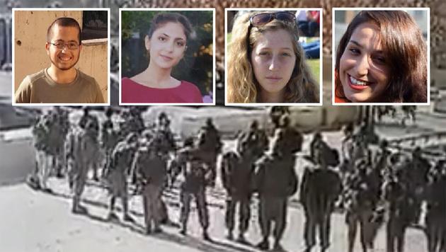Das sind die vier jungen Opfer des IS-Terroristen (Bild: Twitter.com)