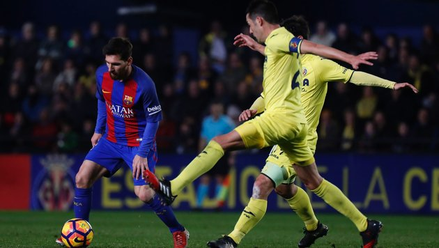 Eklat um Pique! Barcelona-Star greift Liga-Boss an (Bild: APA/AFP/JOSE JORDAN)
