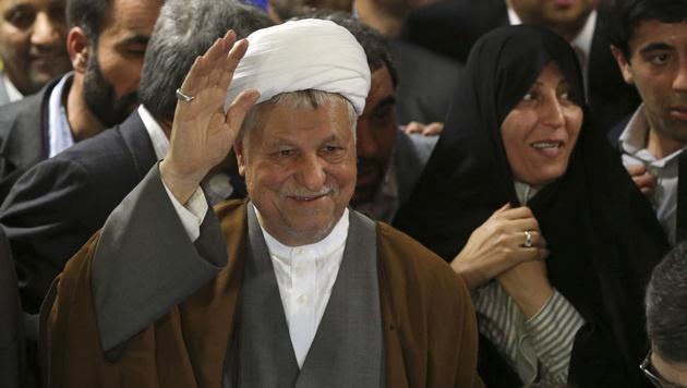 Akbar Hashemi Rafsanjani (Bild: AP)