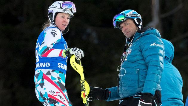 """ÖSV-Coach: """"Brauchen nicht über Medaillen reden!"""" (Bild: APA/EXPA/SEBASTIAN PUCHER)"""