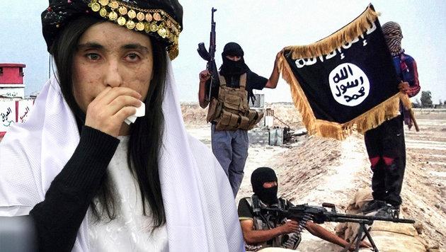 """Sex-Sklavin des IS: """"Diese Männer sind Monster"""" (Bild: raqqa-sl.com, AP/Christian Lutz)"""