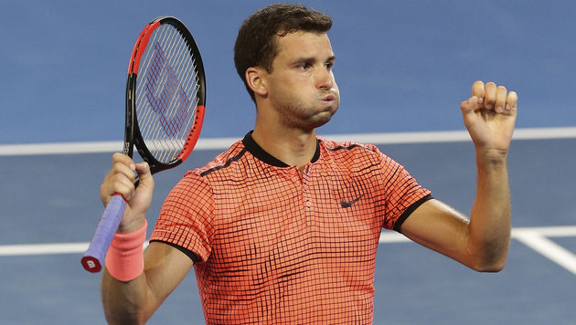 Thiem-Bezwinger Dimitrow holt Titel in Brisbane (Bild: Associated Press)