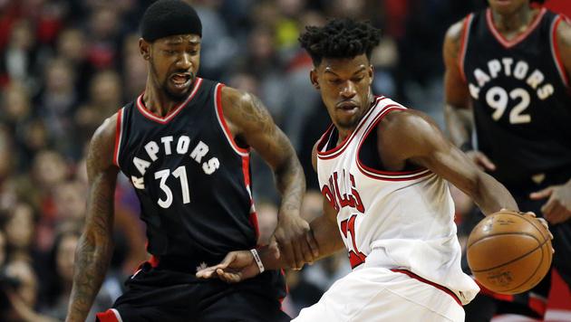 Toronto Raptors geben Sieg in Chicago aus der Hand (Bild: AP)
