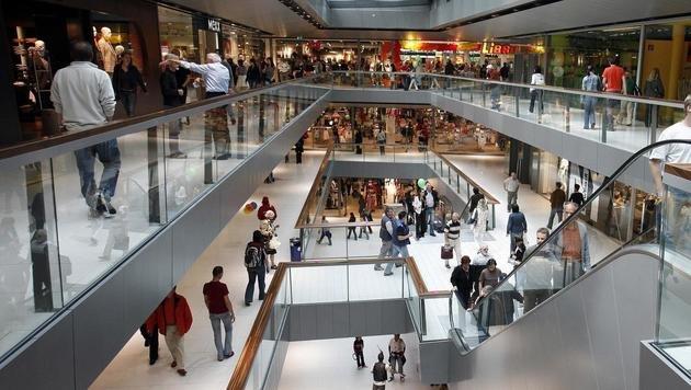 In diesem Einkaufszentrum in Innsbruck kam es zu der Sex-Attacke auf die Frau (62). (Bild: APA/Hans Klaus Techt)