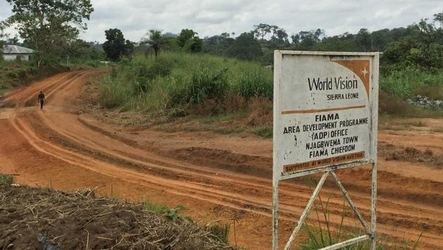 World Vision Österreich kümmert sich in Sierra Leone um die Ärmsten der Armen. (Bild: Gregor Brandl)