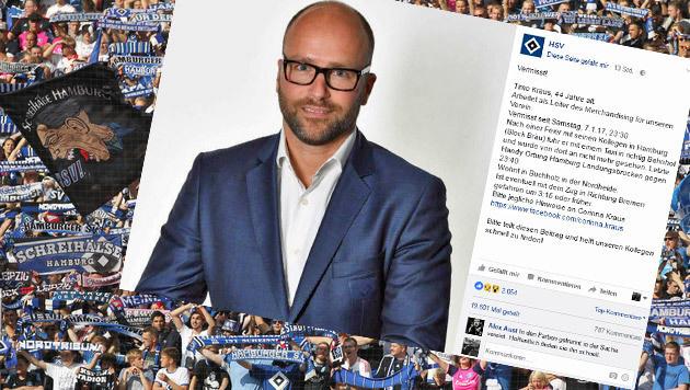Bangen beim HSV: Manager spurlos verschwunden (Bild: GEPA)