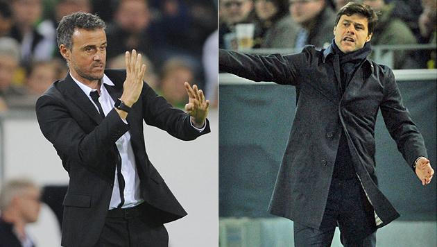 Barca: Fliegt Enrique? Pochettino steht bereit (Bild: GEPA)