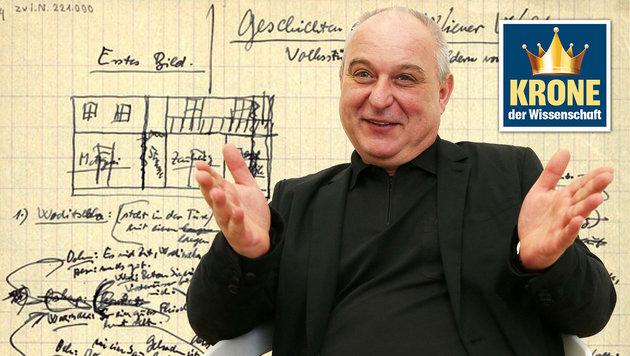 """Forscher entschlüsseln Ödön von Horváths Texte (Bild: Jürgen Radspieler, Wien-Bibliothek im Rathaus, """"Krone"""")"""