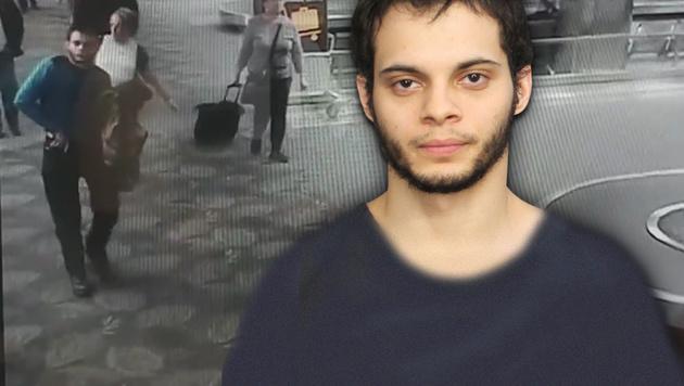 Hier zieht der Fort-Lauderdale-Mörder seine Waffe (Bild: YouTube.com, AP)