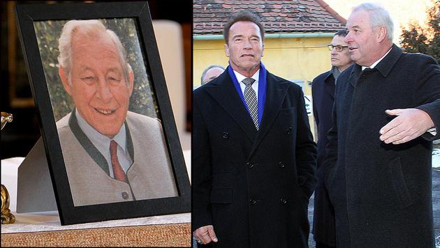 Letzte Ehre für Polit-Legende Josef Krainer (Bild: Christian Jauschowetz)